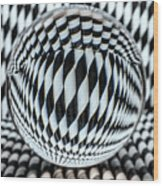 Paper Straw Patterns Wood Print