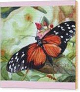 Papillon I Wood Print