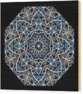 Papilloz - Mandala Wood Print