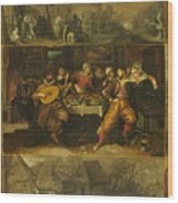 Parable Of The Prodigal Son Wood Print