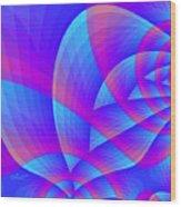 Parabolic Wood Print
