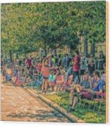 Parade #6 Wood Print