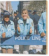 Parade For 1998 World Series Champions Wood Print