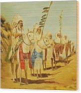 Parade Of The Chiefs Wood Print by G Kay Cummings