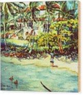 Paradise At Dorado Puerto Rico Wood Print