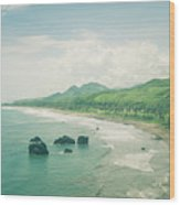 Paradise Bay Wood Print