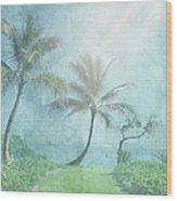 Paradise Found II Wood Print