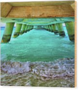 Paradise In Grand Turk Never Ends Wood Print