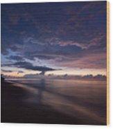 Paradise Wood Print by John Magor
