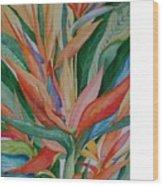 Paradise Memories  Wood Print