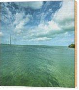 Paradise On Earth, Florida Keys Wood Print