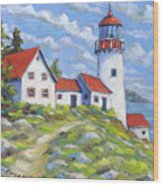 Paradise On The Point Wood Print