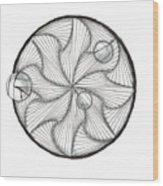 Paradoxicircally Wood Print