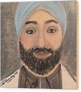 Paramjit S. Chopra M D Wood Print