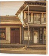 Paramount Ranch Agoura Hotel - Panorama Wood Print