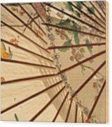 Parasol Wood Print