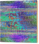Parched - Abstract Art Wood Print