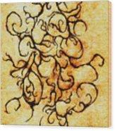 Parchment Wood Print