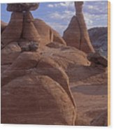 Paria Canyon Hoodoos Wood Print