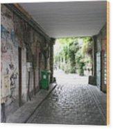Paris - Alley 2 Wood Print