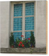 Paris - Window Wood Print