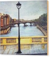 Paris After The Rain Wood Print
