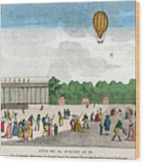 Paris: Bastille Day, C1801 Wood Print
