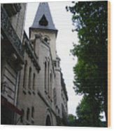 Paris Church 2 Wood Print