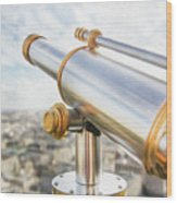 Paris City View 29 Wood Print