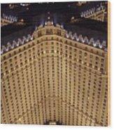Paris Lights-las Vegas Wood Print