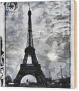 Paris Wood Print