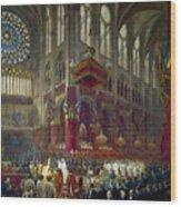 Paris: Notre Dame, 1841 Wood Print