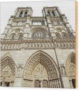 Paris Notre Dame Wood Print