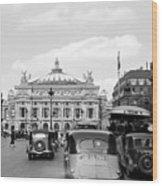 Paris Opera 1935 Wood Print