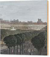Paris: Palais Royal, 1821 Wood Print