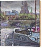 Paris Pont Alexandre IIi Wood Print