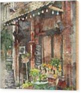 Paris Restaurant 5 - By Diana Van Wood Print