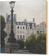 Paris Stroll Wood Print