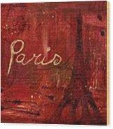 Paris - V01ct1at2cc Wood Print