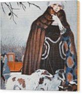 Parisian Style, 1921 Wood Print