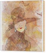 Parisienne 1930 Wood Print