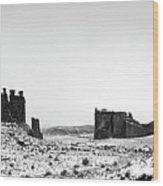 Park Avenue At First Light - Arches National Park Wood Print