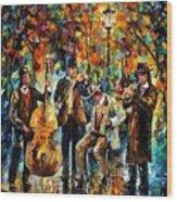 Park Band  Wood Print