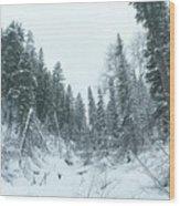 Park City Utah  Wood Print