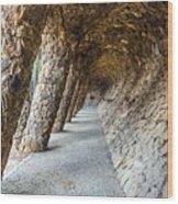 Park Guell Wood Print