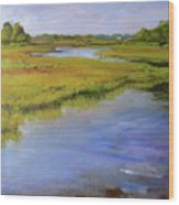 Parker's River, Cape Cod Wood Print