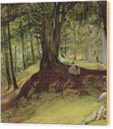 Parkhurst Woods Wood Print