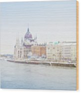 parliament in  Budapest Wood Print