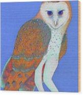 Parliament Of Owls Detail 1 Wood Print