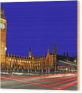 Parliament Square In London Wood Print